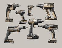Cordless Drill Concept