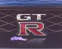 NISSAN R35 GTR Black Edition
