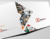 RealArt-Productions Branding Design