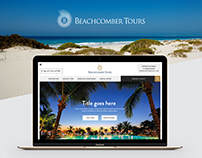 Beachcomber Tours Website Redesign