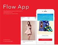 Flow iOS App UI Design