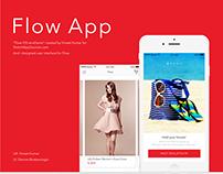 Flow iOS App UI Design