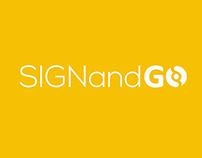 Sign&Go - Branding - Marka Çalışması