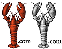 Lobster.com Logo mark Illustrated by Steven Noble