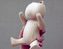 Wood bear.