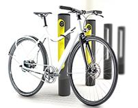 SMARTPOLE - E-Bike charging station