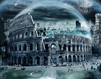 (Rome) UNDER THE DOME// Photomanipulation