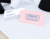 Business card Michela
