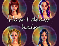 How I Draw Hair