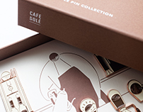 CAFE SOLÉ Pin Collection