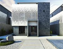 Family Villa Exterior Design