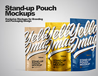 Stand-up Pouch Mockup PSD