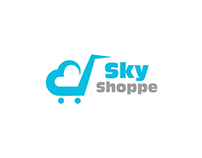 Logo design for a Company called Sky Shoppe..