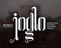 Joglo typeface