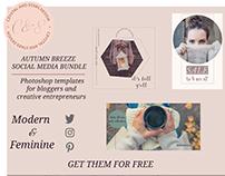 Autumn Breeze - Free Social Media Pack