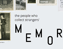 The People Who Collect Strangers' Memories