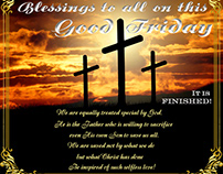 Blessings to all on this Good Friday