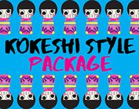 Kokeshi Style Package