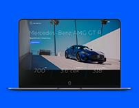 Landing Page, Promo Website Car.