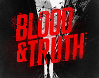 """""""Blood and Truth""""video game UI/UX/design development."""