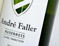 Wine label - Étiquette de vin - André Faller - Alsace
