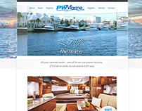 PW Marine: Website Design