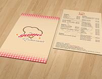 Primer menú Restaurante GAMO