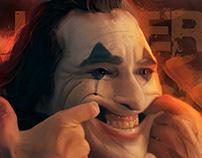 Joaquin Phoenix (Joker) - Digital Painting