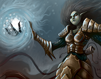 Atlantean Sorceress