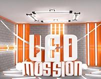 Ledmossion 3D
