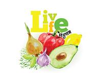 Logo Live food