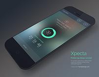 Xpecta App Concept