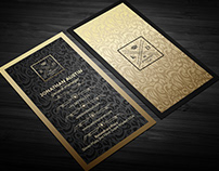 Merioula Elegant Business Card