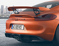 Porsche digital retouching