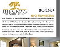 The Grove Flyer Design