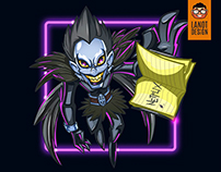 Ryuk Fan Art Illustration