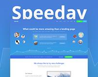 Speeday - Landing Page