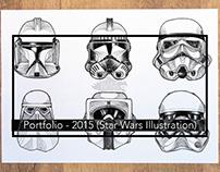 Portfolio: 2015 Illustration (Star Wars)