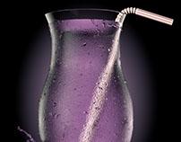 CGI Mysterious Purple Drink
