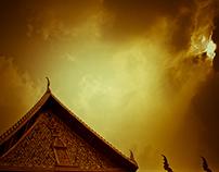 Wat Chana Songkram, Bangkok, Thailand