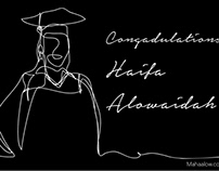 Haifa's graduation post