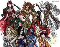 MIKEY ESPINOSA - WOMEN OF MARVEL X-MEN