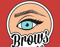 Brows a go-go Logo