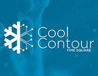 cool contour Logo Presentation