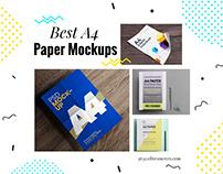 Best Free A4 Paper Mockups (2020 Update)