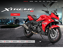 Hero Xtreme 200s - Microsite