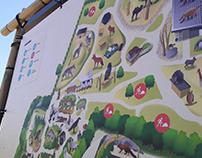 Dierenpark ZieZoo - Parkplattegrond