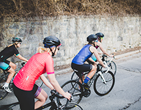 Peppermint Cycling Co. Lifestyle photoshoot