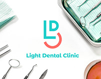 Branding: Light Dental Clinic