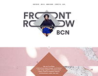 Front Row BCN Website Design